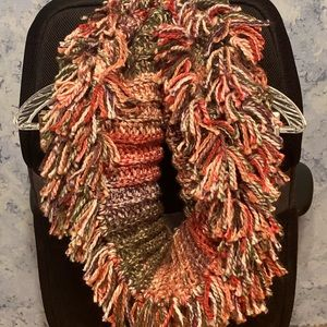 💕HANDCRAFTED💕 Multi Colored Infinity Scarf